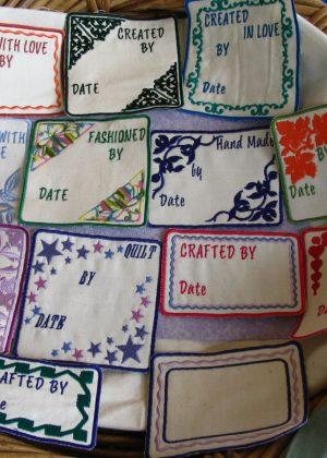 Quilt Labels 1